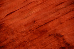 Detail patterns and cracks in Red Navajo sandstone walls Royalty Free Stock Photo