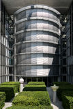 Detail of Paul-Loebe Haus, part of the German Chancellery buildi Stock Image
