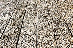 Detail of a pavement, high contrast picture Stock Images