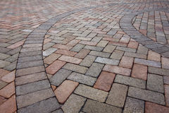 Detail of Pavers Stock Images