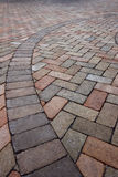 Detail of Pavers Royalty Free Stock Photo