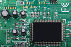 Detail of pcb Royalty Free Stock Images