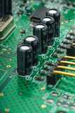 Detail of pcb Royalty Free Stock Photos