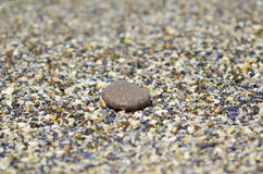 Detail of pebble on beach Royalty Free Stock Photography