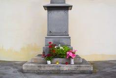 Detail of pedestal Stock Image