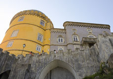 Detail of The Pena National Palace Stock Photos