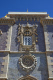 Detail of the Pena National Palace in Sintra Stock Image