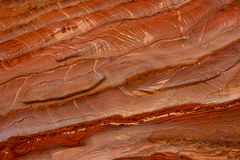 detail petra-stenen Arkivfoton