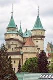 Detail photo of Bojnice castle, Slovak republic stock photography