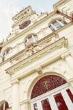 Detail photo of Budmerice castle in Slovak republic, retro photo Stock Image