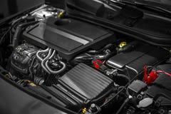 Detail photo of a car engine Stock Photos