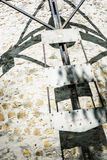 Detail photo of old tower windmill in Holic, Slovakia Royalty Free Stock Photo