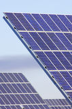 Detail of a photovoltaic panel. For electricity production Royalty Free Stock Images
