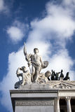 Detail of Piazza Venezia Royalty Free Stock Images