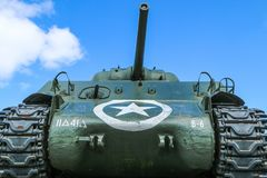 A detail picture of the Sherman royalty free stock photo
