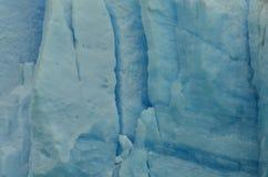 Perito Moreno Glaciar Ice Texture. Detail of a piece of Ice from the Patagonian Glacier called Perito Moreno Royalty Free Stock Photo
