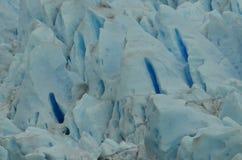 Perito Moreno Glaciar Ice Texture. Detail of a piece of Ice from the Patagonian Glacier called Perito Moreno Stock Photos