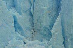 Perito Moreno Glaciar Ice Texture. Detail of a piece of Ice from the Patagonian Glacier called Perito Moreno Royalty Free Stock Image