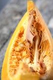 Detail of piece of pumpkin. Stock Photography