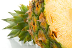 Detail of pineapple Stock Photo