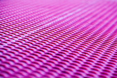 Detail of the pink bench in the pink color Royalty Free Stock Photo