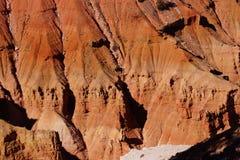 Detail, pinnacles and hoodoos of red Navajo sandstone Stock Image