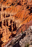 Detail, pinnacles and hoodoos Stock Photo