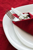 Detail of place setting Royalty Free Stock Photography
