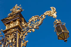 Detail of the Place Stanislas in Nancy Stock Photography