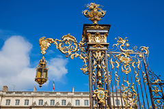 Detail of the Place Stanislas in Nancy Royalty Free Stock Photos