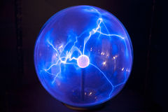 Plasma globe Stock Photography