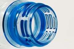 Detail of plastic bottle Royalty Free Stock Images