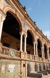 Detail of Plaza De Espana in Seville Royalty Free Stock Photos