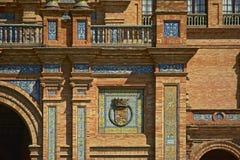 Detail of Plaza de Espana, Seville Royalty Free Stock Photography