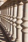 Detail in Plaza de Espana in Seville Stock Image