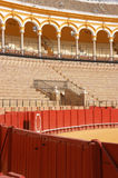Detail of the Plaza de Toros in Seville Stock Images