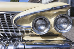Detail of a Plymouth vint Stock Photography