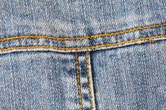 Detail of pocket jeans Stock Photos