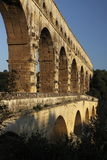 Detail of Pont du gard. Pont du Gard is one of the most visited landmarks in France. It is the major stonework of a 50km aqueduct that runs between Uzès and Nî Royalty Free Stock Image