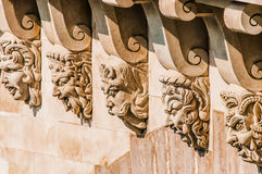 Detail of pont neuf paris city France Stock Image