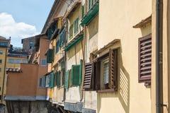 Detail Ponte Vecchio, Florence, Italy Royalty Free Stock Photos