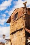 Detail of the Ponte Vecchio shops, Florence Stock Photo