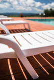 Detail of the pool bed Stock Image