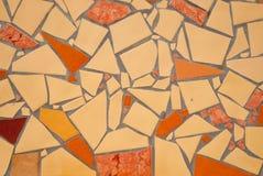 Detail of Portuguese glazed tiles. Stock Photo