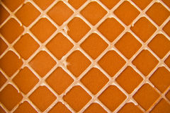 Detail of Portuguese glazed tiles. Royalty Free Stock Images