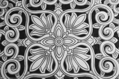 Detail of Portuguese glazed tiles. Stock Image