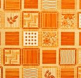 Detail of Portuguese glazed tiles. Royalty Free Stock Photos