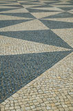 Detail of Portuguese pavement Stock Photos