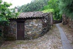 Detail of a portuguese schist village Stock Images