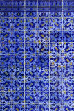 Detail of Portuguese tiles Royalty Free Stock Image